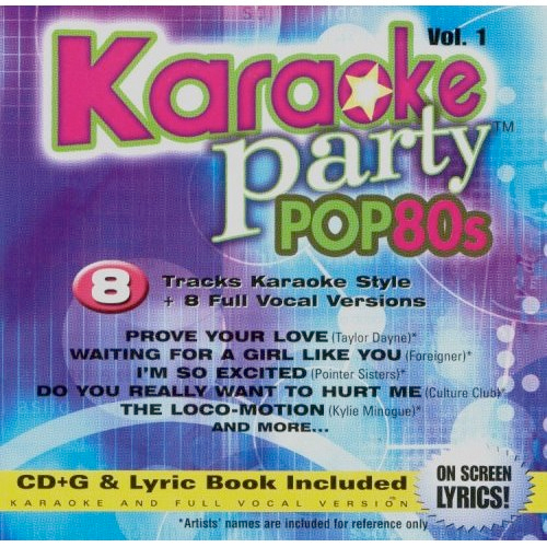 Thumbnail of Karaoke Party Pop 80s Volume 1 CD+G