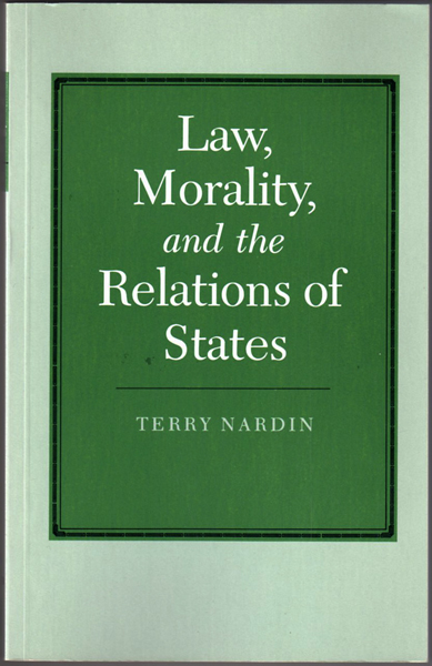 Thumbnail of Law, Morality, and the Relations of States