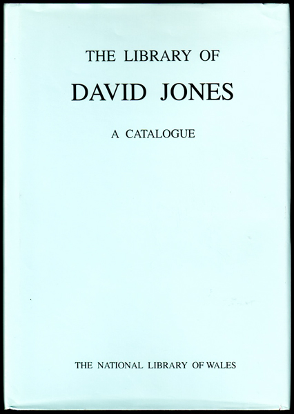 Thumbnail of Library of David Jones, 1895-1974: A Catalogue