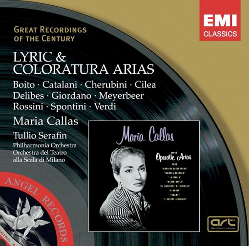 Thumbnail of Lyric & Coloratura Arias by Maria Callas (EMI's Great Recordings of the Century)