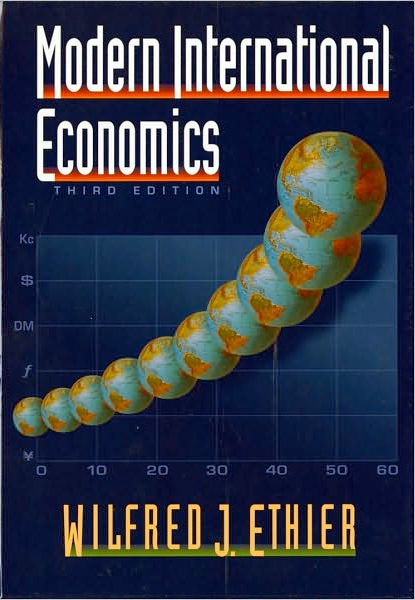 Thumbnail of Modern International Economics (Third Edition)
