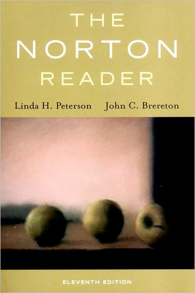 norton reader essay classification Mother tongue, by amy tan  i am not a scholar of english or literature i cannot give you much more than personal opinions on the english language and its variations in this country or others.