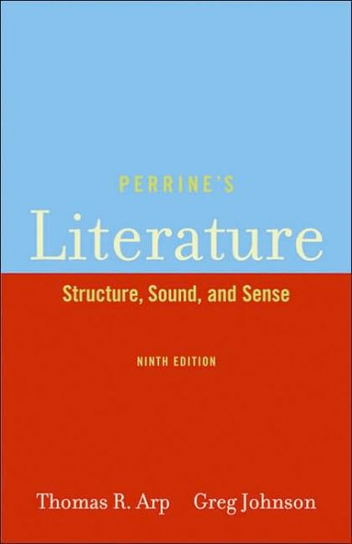 Thumbnail of Perrine's Literature: Structure, Sound, and Sense