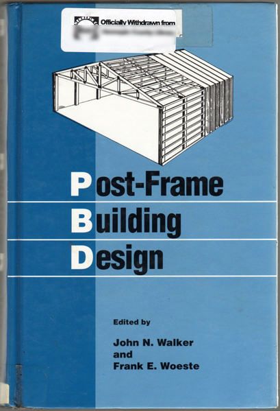 Thumbnail of Post-Frame Building Design (NCNB Governance Series Paper)