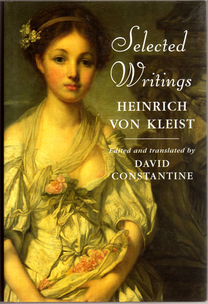 Thumbnail of Selected Writings: Heinrich Von Kleist