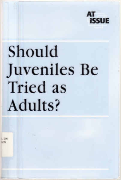 juveniles treated like adults essay Juvenile offenders should not be treated as adults and the district of columbia have made it easier to put on trial and punish juveniles as adults from all the media attention given to cases like those of beazley, tate.