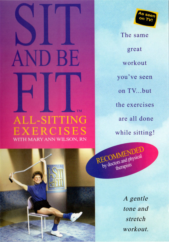 Image 0 of Sit and Be Fit: All-Sitting Exercises