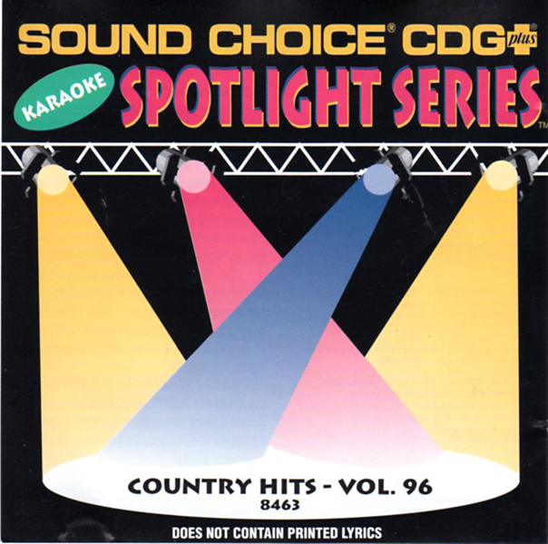 Thumbnail of Sound Choice CDG Plus Karaoke Vol. 96-Country Hits