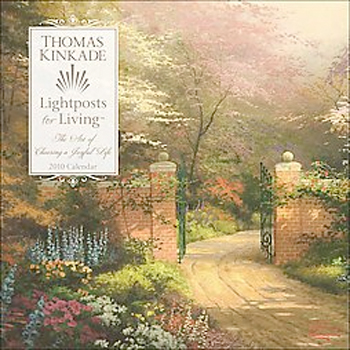 Thumbnail of Thomas Kinkade Lightposts for Living: 2010 Wall Calendar