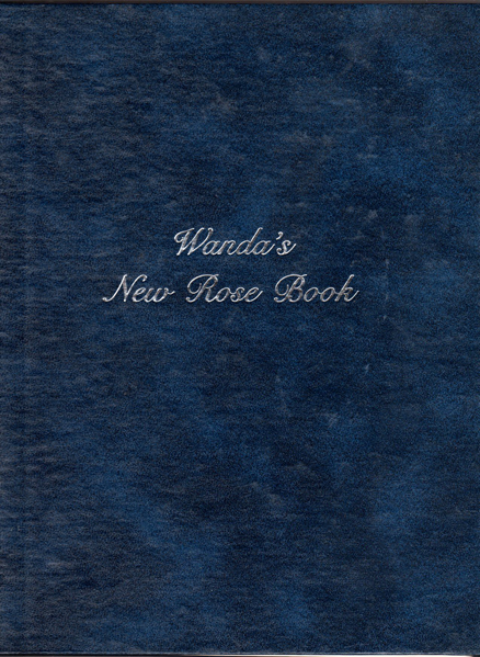 Thumbnail of Wanda's New Rose Book