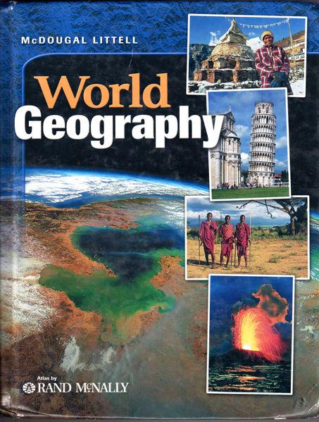 World Geography Grades 9 12 Mcdougal Littell World