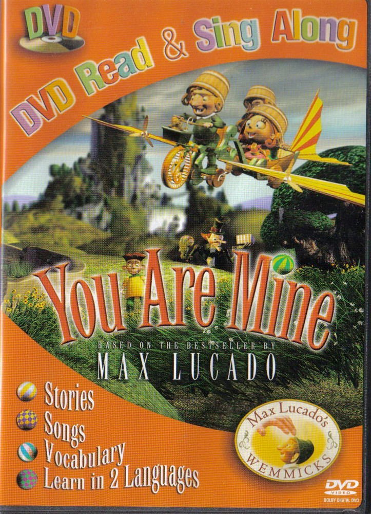 Image 0 of You Are Mine (Based on the Best Seller by Max Lucado) DVD Read & Sing Along Stor