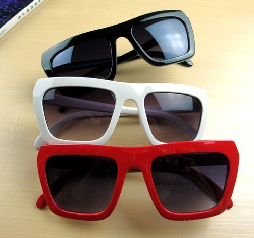 Super Vintage Cool Funny Men Women Party Big Sunglasses