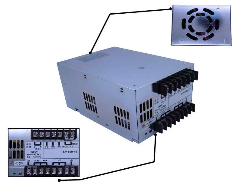 500W-Universal-Regulated-Switching-Power-Supply-AC-100V-240V-to-DC-12V-40A