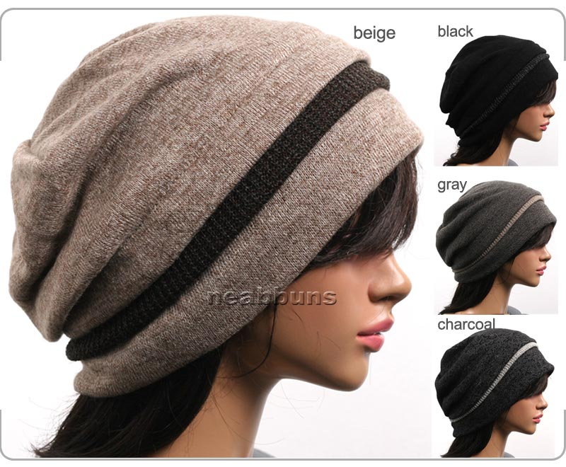 designer beanie hat womens chic unisex winter skull