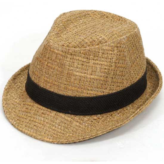 fedora hats cap straw vintage nwt fs6 beige ebay