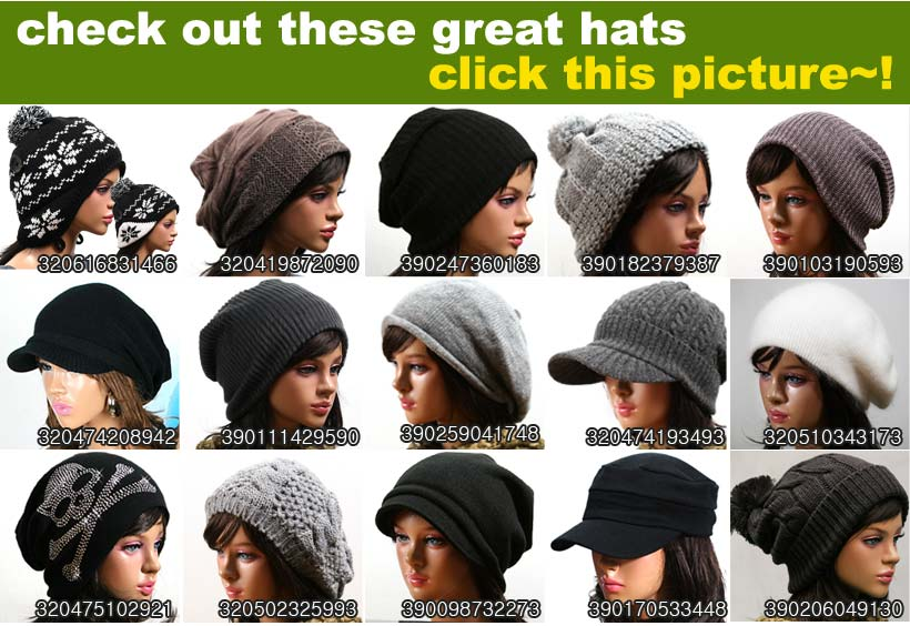 various wonderful beanie hat cap