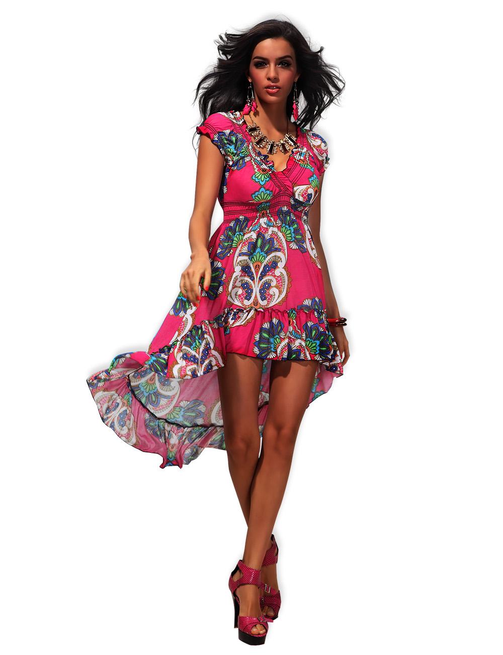 Длинное Пляжные Платья Купить