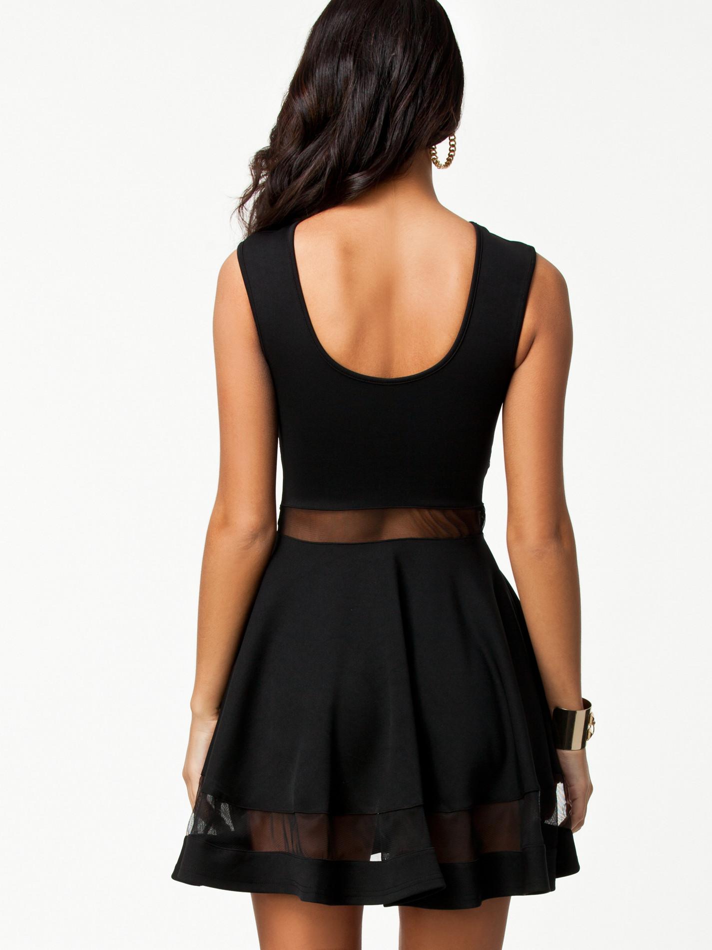 Черное прозрачное платье 24 фотография