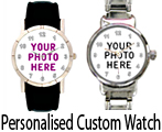 Personalised Custom Watch