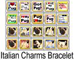 Italian Charm Link Bracelet