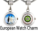 European Watch Chrams For Bracelet Necklace