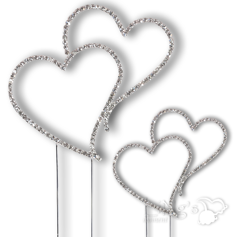 Wedding Cake Decorations Hearts