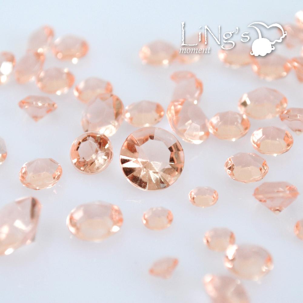 7000pcs Mixed Sizes Diamond Confetti Table Scatter