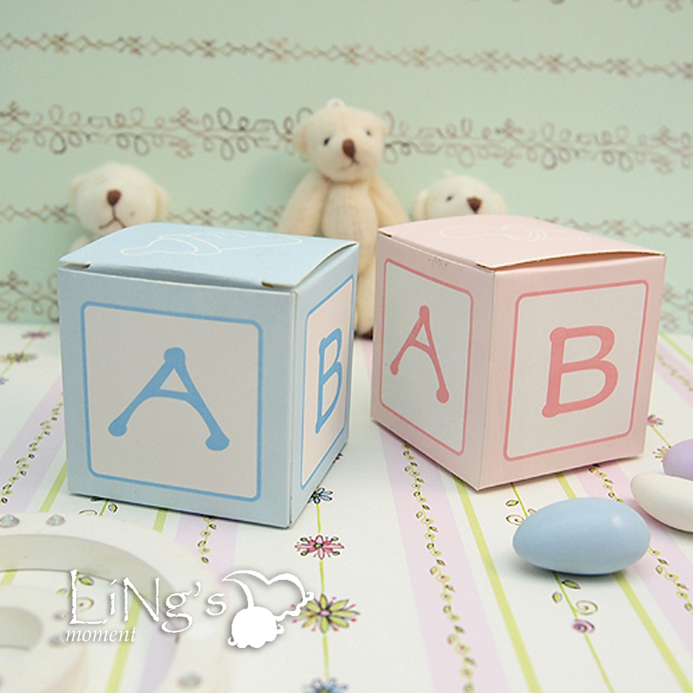 x2 034 x2 034 favor gift candy box bomboniere boxes baby shower party