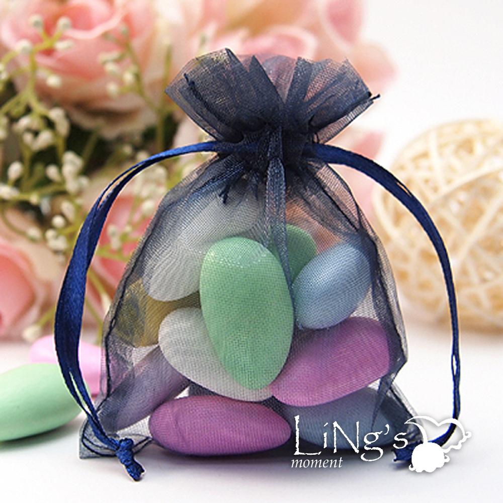 "300 pieces 3""x4"" 7cmx10cm Sheer Organza Wedding Favor Gift Candy Pouch Bags"