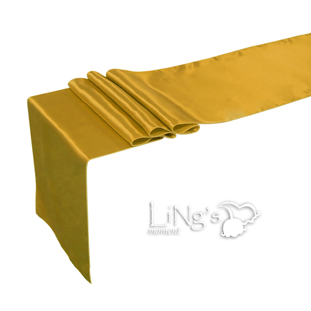 """Satin Table Runner 12"""" x 108"""" 30cm x 275cm Wedding Party Banquet Decorations"""