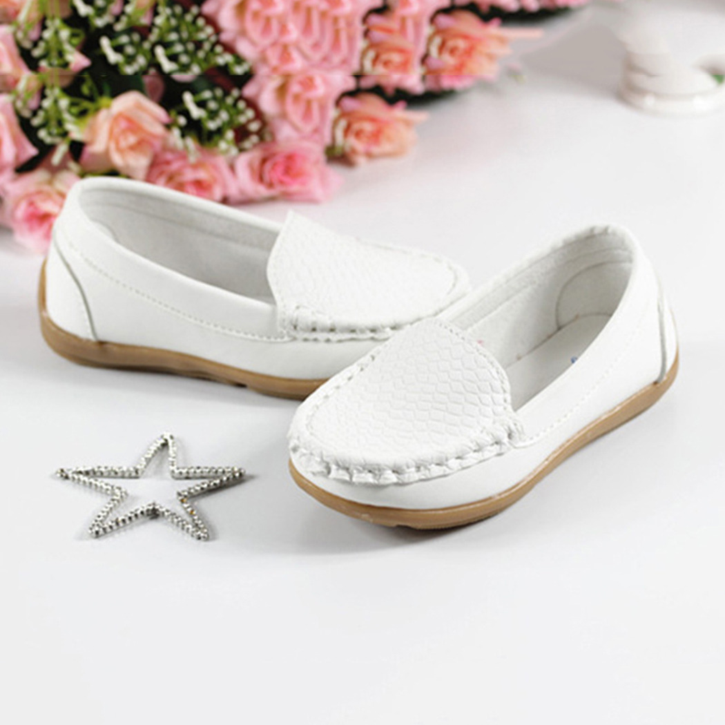 Chaussures bateau Mocassins Enfant filles ballerine