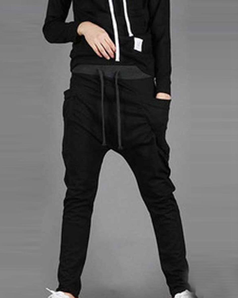 homme mode pantalon sport jogging lastique hip hop danse sarouel harem automne ebay. Black Bedroom Furniture Sets. Home Design Ideas