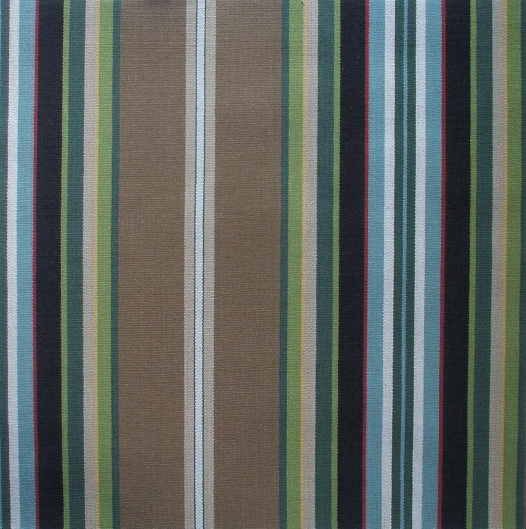 Close to Custom Linens Carlton Stripe Walnut Brown 96
