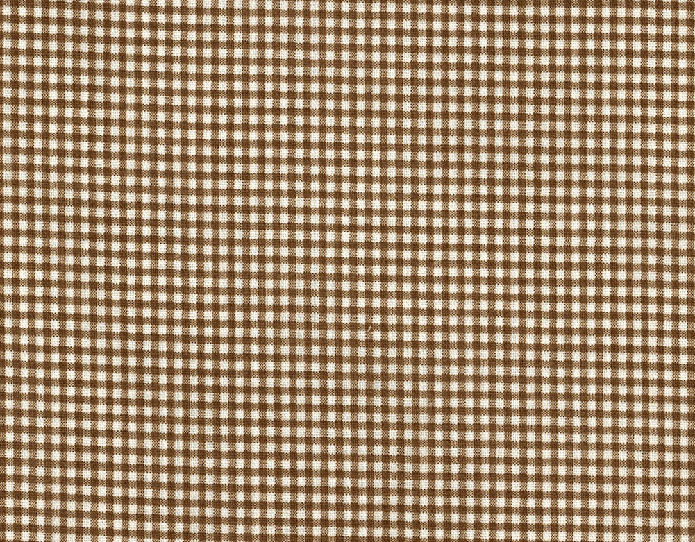 Close to Custom Linens French Country Gingham Check Suede Brown 96