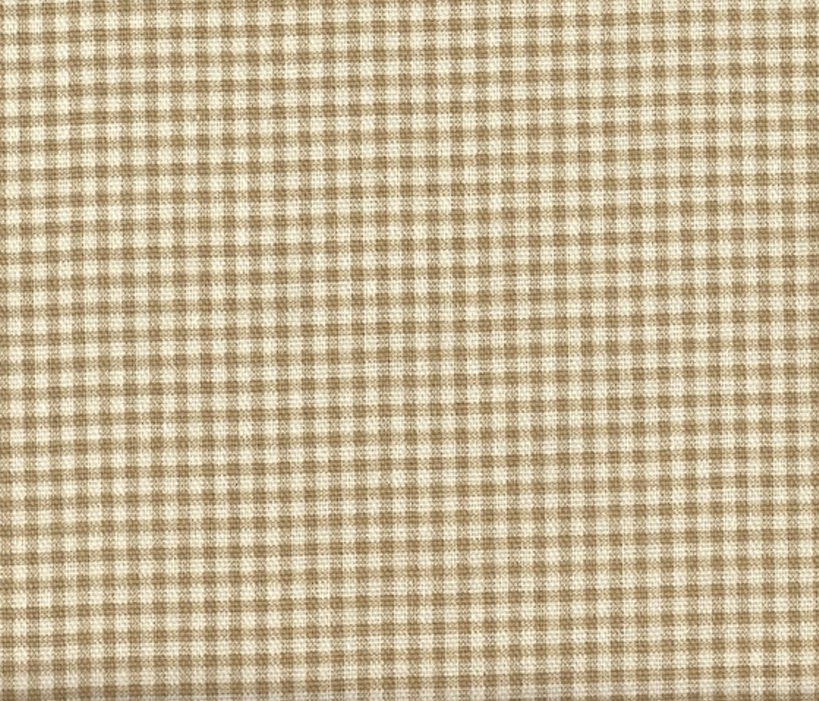 Close to Custom Linens French Country Gingham Check Linen Beige 96