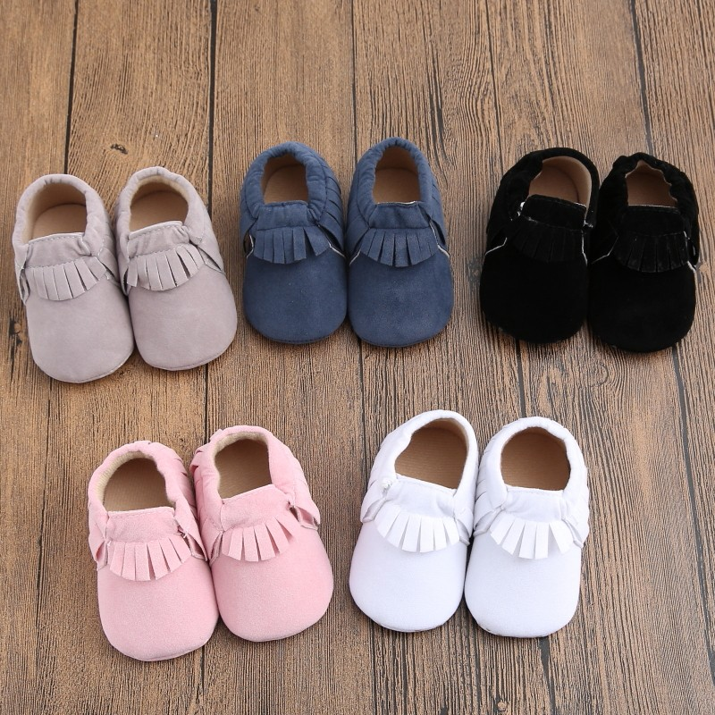 NEW Anti-slip Baby Toddler Boy Girl Child Cute Bowknot Stripe Shoe ...