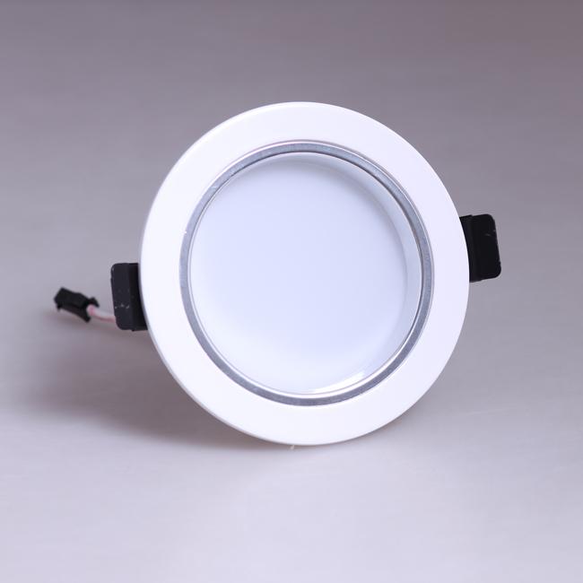 Led Ceiling Flood Lights : W led ceiling down light fixture recessed lamp bulb kit