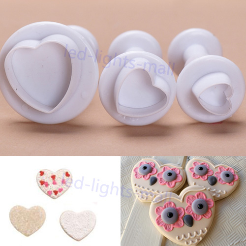 0.99 Sales! Cake Decorating Icing Bag Sugarcraft Fondant Flower Cutters Nozzles