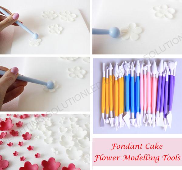 16-MODELLING-TOOLS-CAKE-DECORATING-BAKING-SUGARCRAFT-ICING-8PCS-FONDANT-MOULD