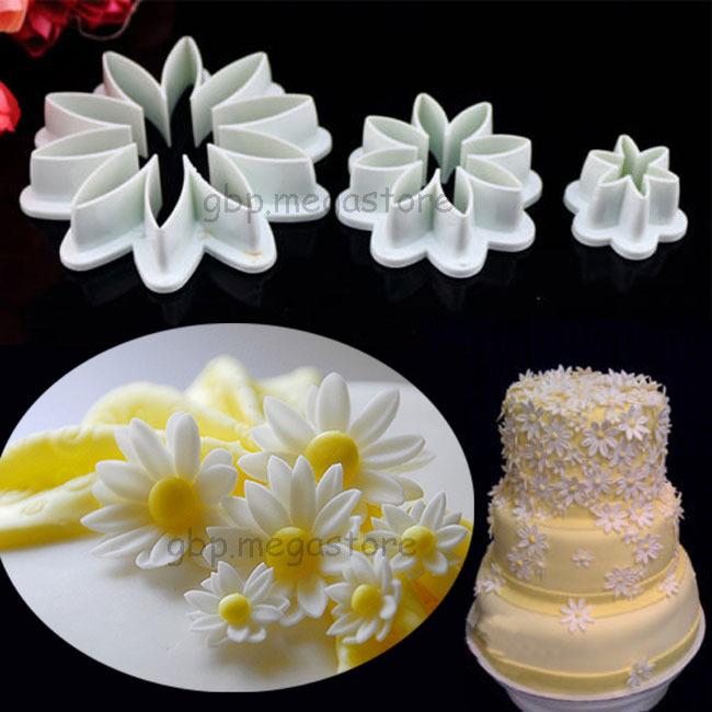 Fondant Cake Decorations Uk : Fondant Cake Cookie Decorating Sugarcraft Mould Baking ...