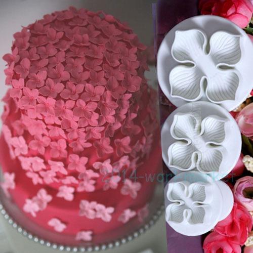 Fondant Cake Decorating Sugarcraft XMAS Snowflake Mould Baking Tools Cutter #T