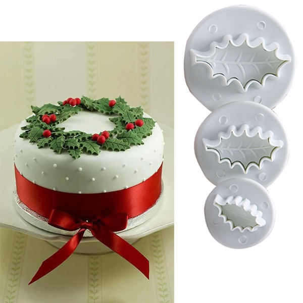 Sugarcraft Christmas Cake Decorations