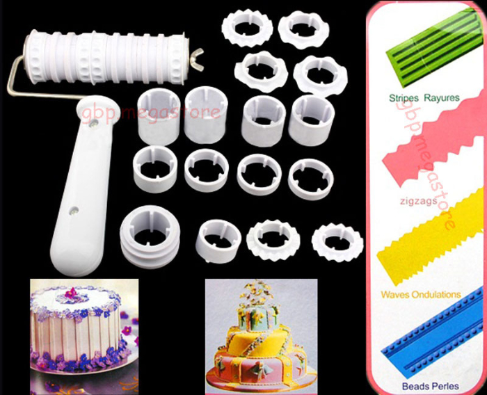 Fondant Cake Cookie Decorating Sugarcraft Mould Baking Tools Icing DIY Cutter #T