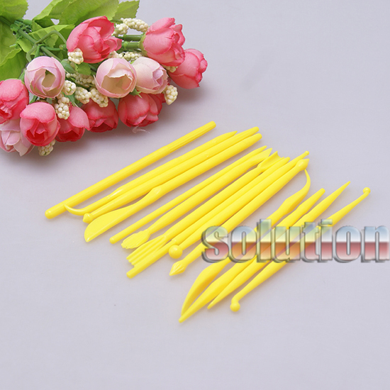 16-MODELLING-TOOLS-CAKE-DECORATING-BAKING-SUGARCRAFT-ICING-8PCS-FONDANT-MOULD