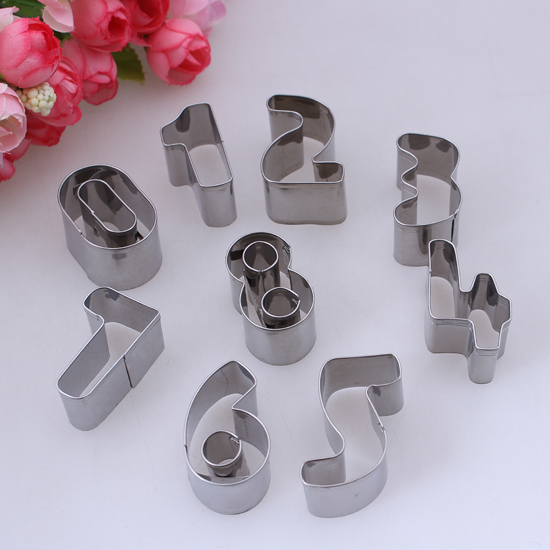 Alphabet Letter Cake Cookie Decorating Fondant Cutter ...