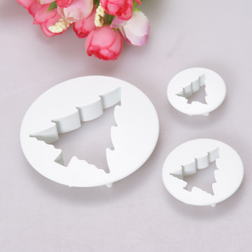 Cake Decorating Christmas Cutters : 5 styles Christmas Icing Plunger Cutter Sugarcraft Set ...
