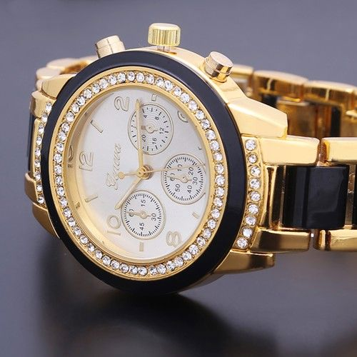 2014-New-Stylish-Bling-Crystal-Plated-Mens-Ladies-Unisex-Bracelet-Quartz-Watch