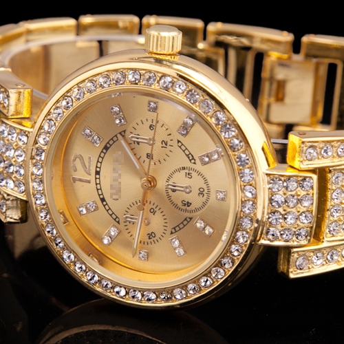 Luxury-New-Charm-Gold-Bling-Crystal-Rhinestone-Womens-Ladies-Bracelet-Gift-Watch