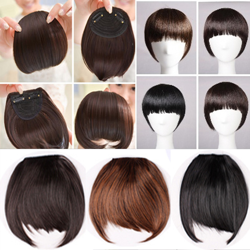 Fringe Clip In Bangs Uk 76